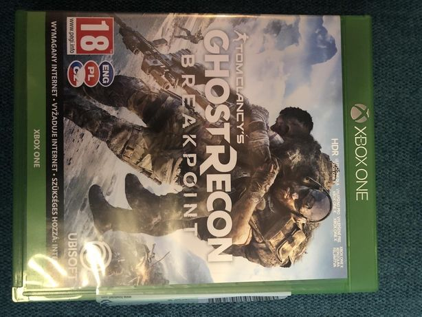 Tom Clancy's Ghost Recon Breakpoint Xbox One 80zl