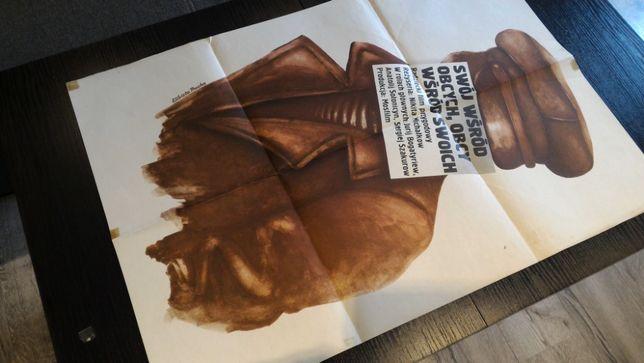 Afisz filmowy - plakat - Swój wśród obcych, obcy wśród swoich, PROCKA