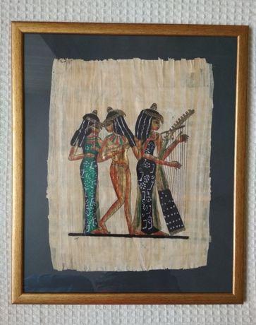 Obrazy na papirusie