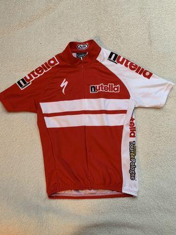 Specialized - koszulka kolarska junior dla dziecka nutella tour de pol