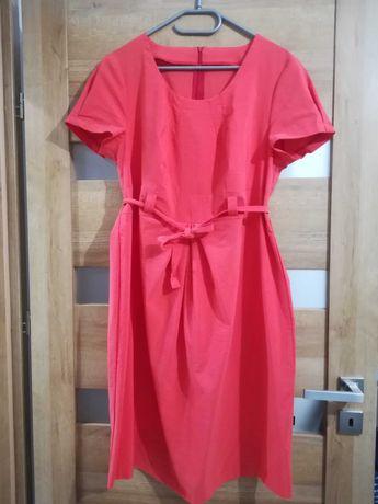 Sukienka ciążowa prawie nowa na różne okazje w pięknym kolorze