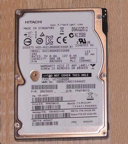 "SAS жорсткий диск Hitachi 2.5"" 6Gbps 10K 600Gb"