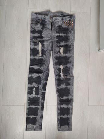 Damskie spodnie szare - KappAhl (rozmiar 170)