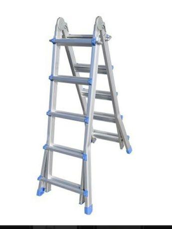 Лестница телескопическая 4х4