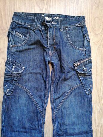 Męskie spodnie jeansowe rozm. 28 S