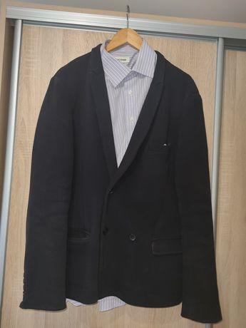 Идеальный мужской  пиджак oodji. Тёмно-синий.