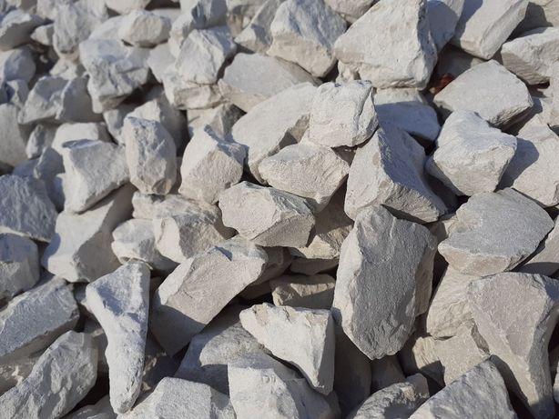 Grys Biały Ozdobny Dekoracyjny Kamień Ogród Kruszywo Gnejs Granit