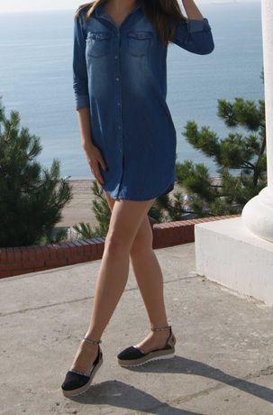 Продам платье-рубашку cropp