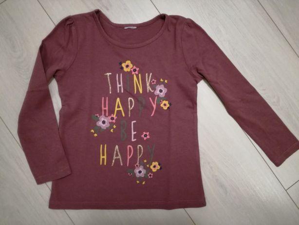 Koszulka, bluzka na długi rękaw 104 cm