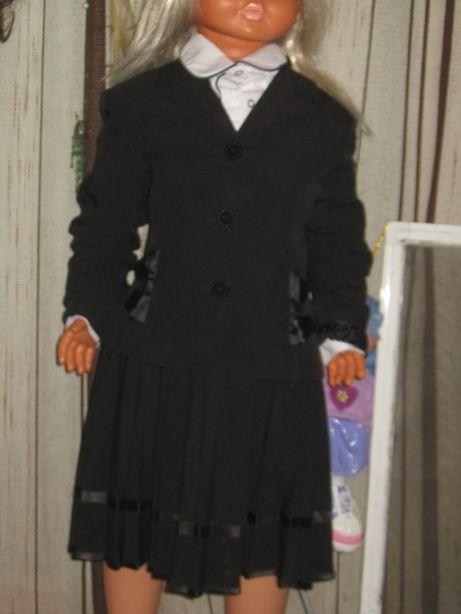 Школьная форма: сарафан+пиджак нарядный рост=116см.