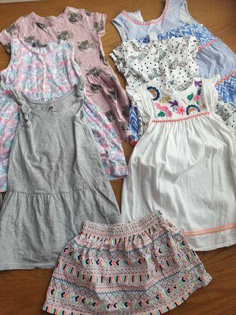 Sukienki letnie h&m next c&a 104