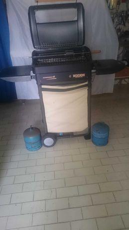Grelhador Barbecue Churrasqueira Campingaz com bilhas de gás