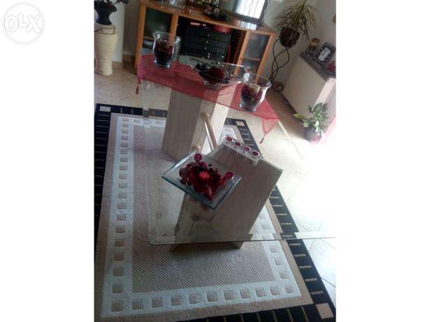 Mesa de sala de estar mármore