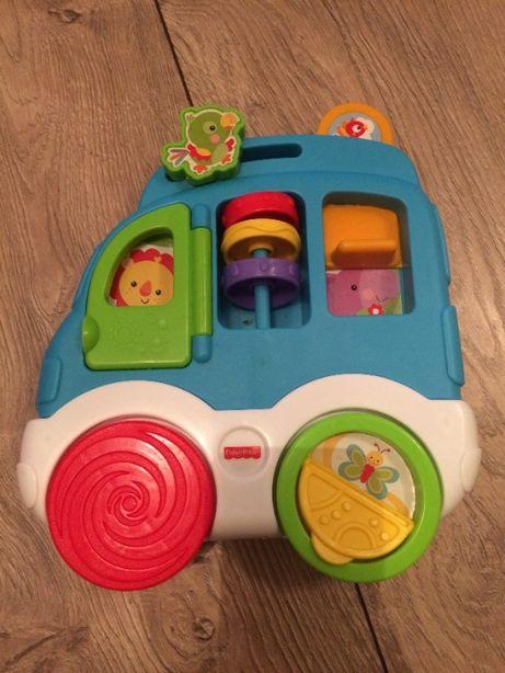 Sprzedam samochodzik edukacyjny dla dzieci.