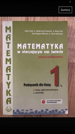 Matematyka w otaczającym nas świecie podręcznik dla klasy 1