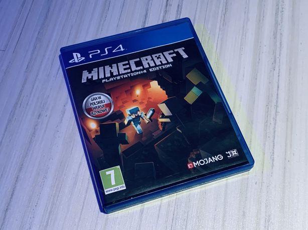 Gra Ps4 Minecraft w wersji polskiej. PACZKOMAT!