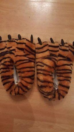 Papcie dziecięce tygryski rozmiar 32 - NOWE