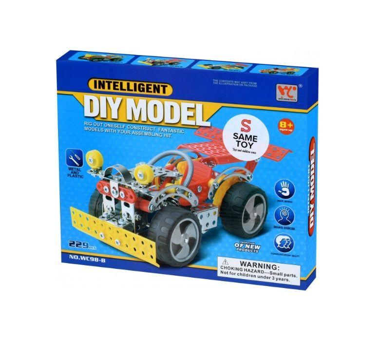Конструктор металлический Same Toy Inteligent DIY Model 229 элементов Новогродовка - изображение 1