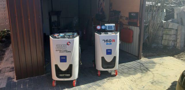Serwis klimatyzacji  r134a i r1234yf. Mechanika samochodowa