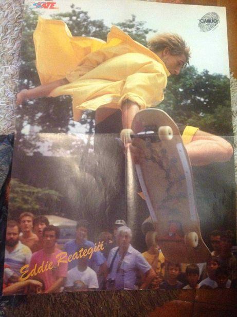 Skate poster Eddie reategui e outros
