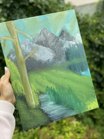 """Продам картину """"Горная поляна"""""""