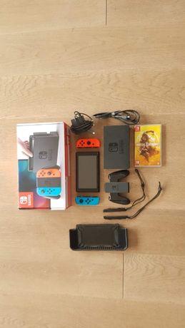 Nintendo Switch Mortal Kombat 11+3 GRY+ karta pamięci 200 GB ETUI SZK+