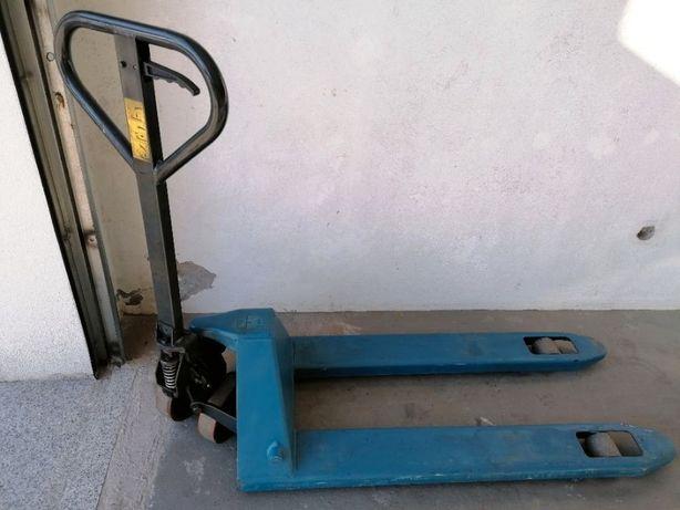 Porta Paletes Usado 2200kgs azul