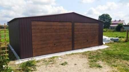 garaz blaszany przecena 6x5,5 garaż blaszak okazja producent