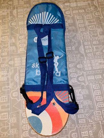 Ótimo Skate para iniciação - imaginarium + Oferta da mochila