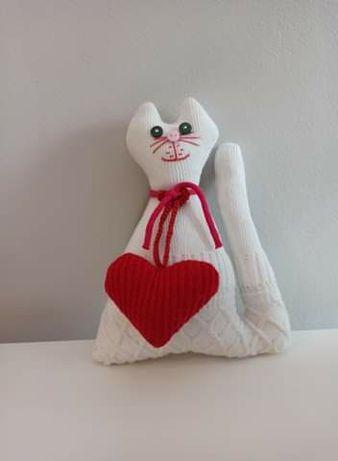 Kotek  - pluszak handmade.