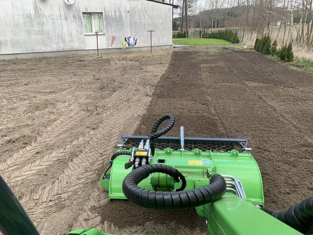 Przygotowanie terenu pod trawnik w jeden dzień