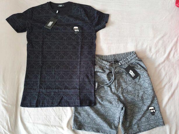 NOWE spodenki Karl Lagerfeld M krótkie spodnie dresowe super ikonik