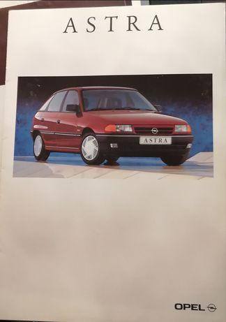 Prospekt Opel Astra F