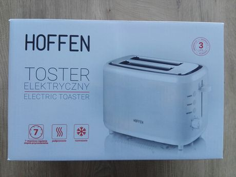 Toster elektryczny opiekacz NOWY biały Gwarancja