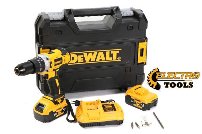Мощный Шуруповерт аккумуляторный Dewalt dcd791 24v. 4.0ah.