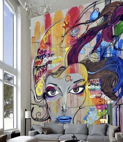 Роспись стен и фасадов, портреты маслом