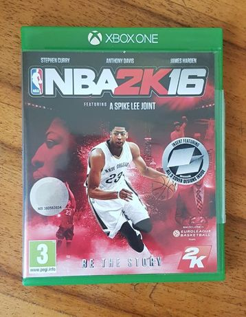 gra na xbox one. NBA 2K16
