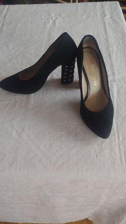 туфли женские натур кожа замш IMAGE