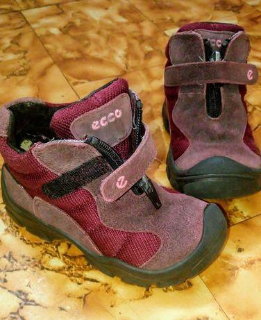 Buty Ecco i śniegowce w dobrym stanie