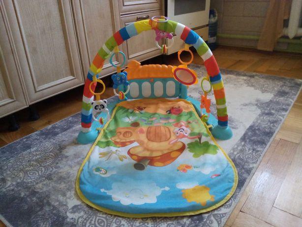 Розвиваючий килимок з піаніно