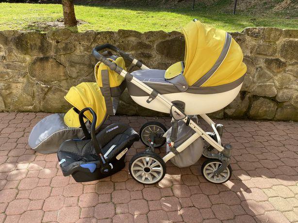 wózek Anex Sport 2w1 + fotelik Maxi Cosi