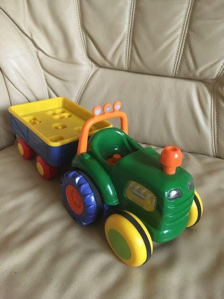 Zabawka Traktor Dumel interaktywny dzwięki odgłosy Farmer traktorek