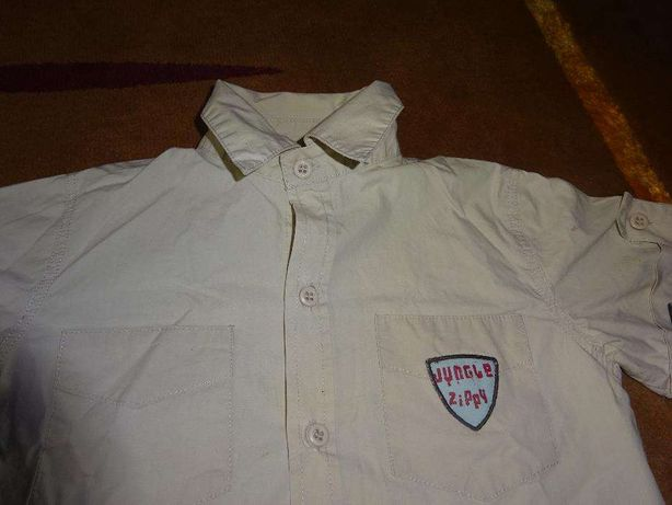 camisa zippy 3-4 anos