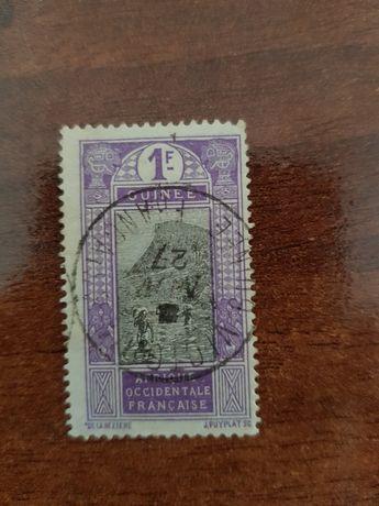 Selo África Ocidental Francesa Guiné