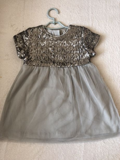 Нарядное платье на девочку 1-1/5 года
