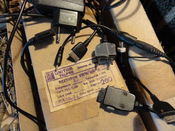 Zasilacze różne, kable komputerowe,zasilające,audio,tel. i itp