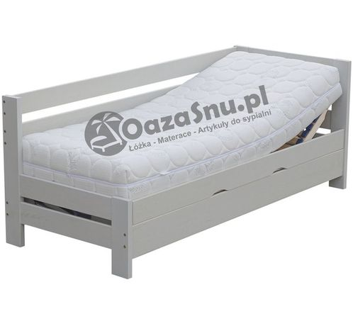 otwierane z boku łóżko z regulacją w zagłówku i podnóżku ENTER 100x200