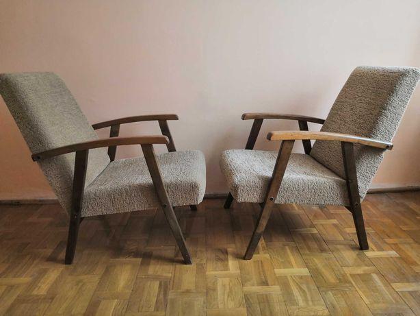 Fotele retro PRL