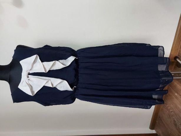 Szyfonowa elegancka sukienka rozm 44