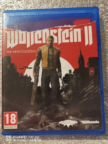 Ps4 Wolfenstein 2 pl (możliwa zamiana)